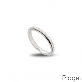 Piaget 18K White Gold Diamond Posession Ring G34PR5500